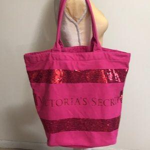 Victoria's Secret Cotton Canvas Tote